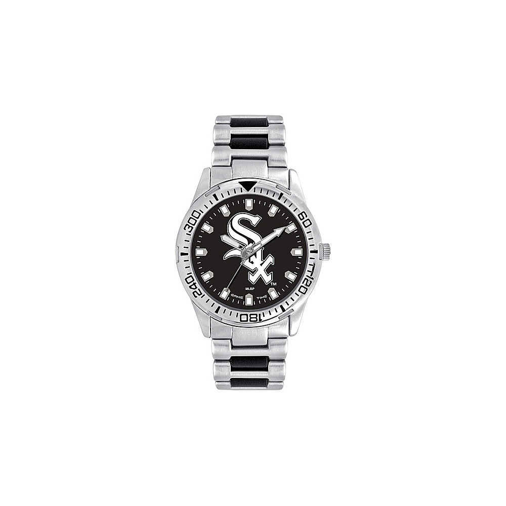 Game Time Mens Heavy Hitter-MLB Watch Chicago White Sox - Game Time Watches - Fashion Accessories, Watches