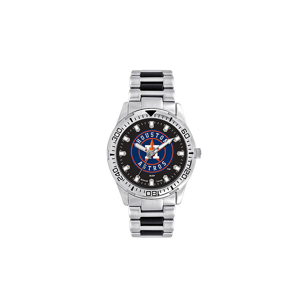 Game Time Mens Heavy Hitter-MLB Watch Houston Astros - Game Time Watches - Fashion Accessories, Watches