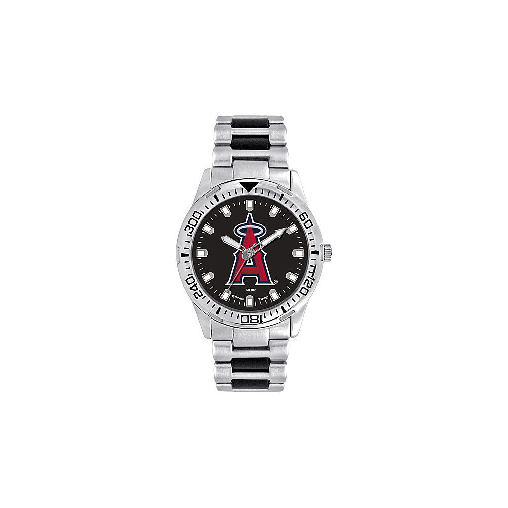 Game Time Mens Heavy Hitter-MLB Watch Los Angeles Angels - Game Time Watches - Fashion Accessories, Watches