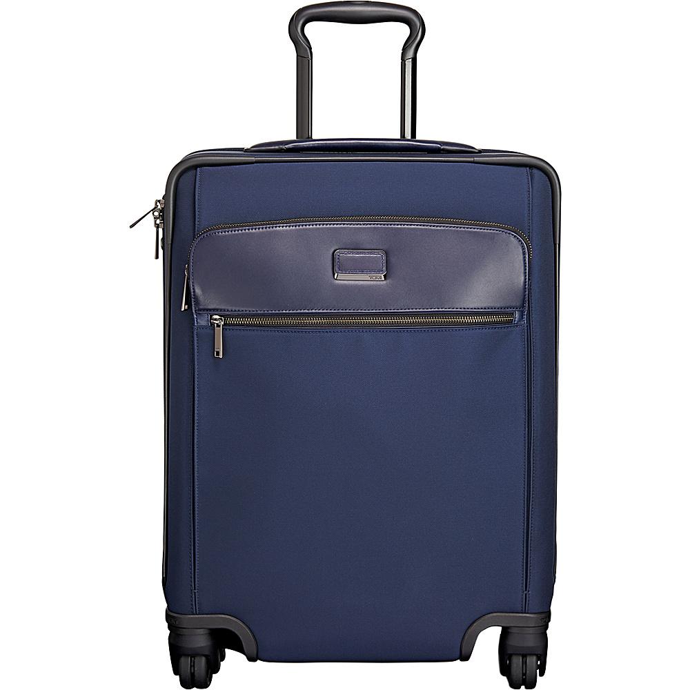 Tumi Larkin Wlisa Short Trip 4 Wheel Packing Case Indigo - Tumi Large Rolling Luggage