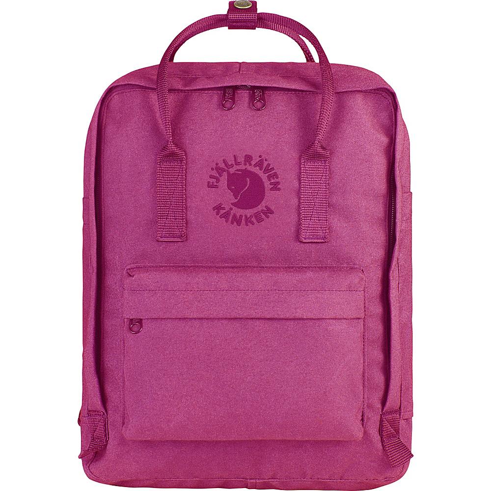 Fjallraven Re-Kanken Backpack Pink Rose - Fjallraven Everyday Backpacks - Backpacks, Everyday Backpacks