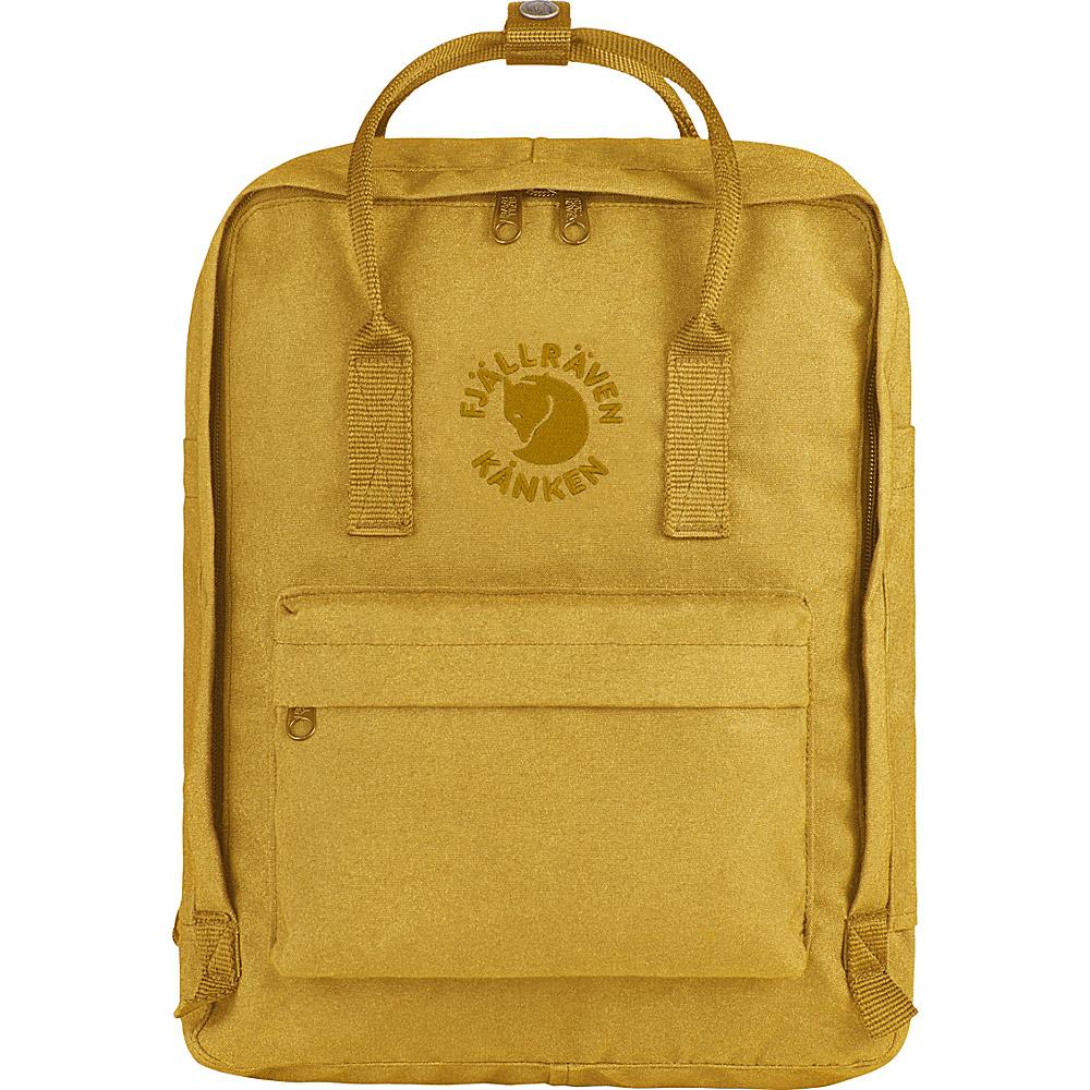 Fjallraven Re-Kanken Backpack Sunflower - Fjallraven Everyday Backpacks - Backpacks, Everyday Backpacks