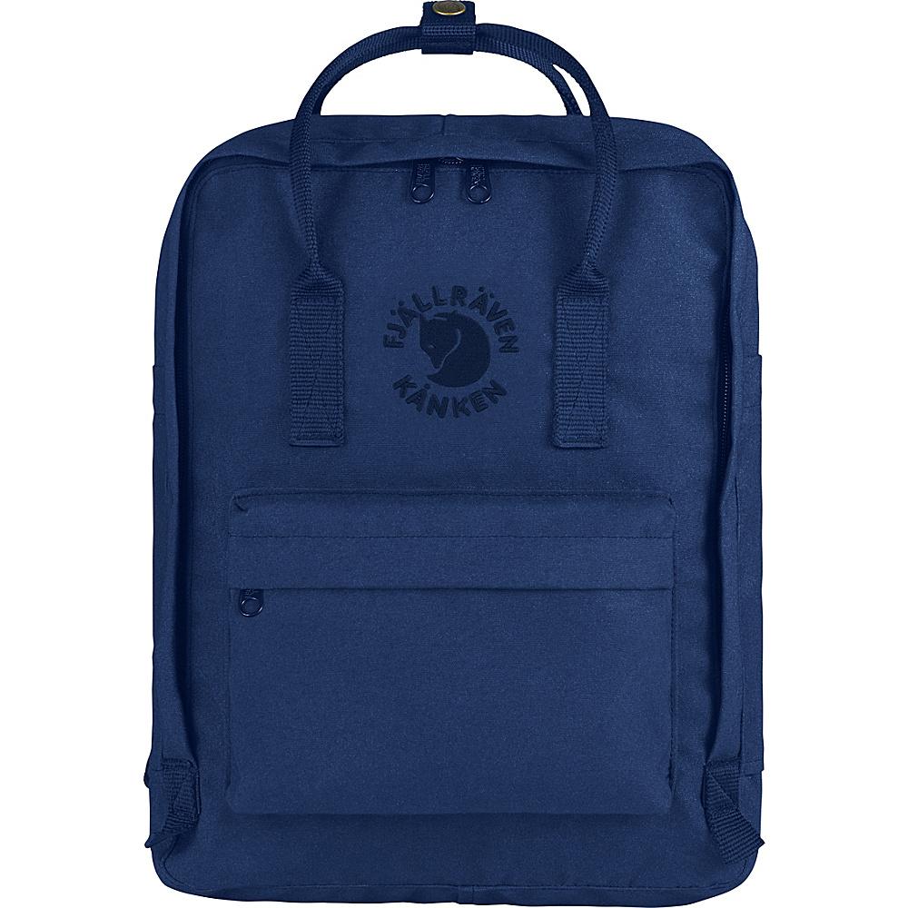 Fjallraven Re-Kanken Backpack Midnight Blue - Fjallraven Everyday Backpacks - Backpacks, Everyday Backpacks