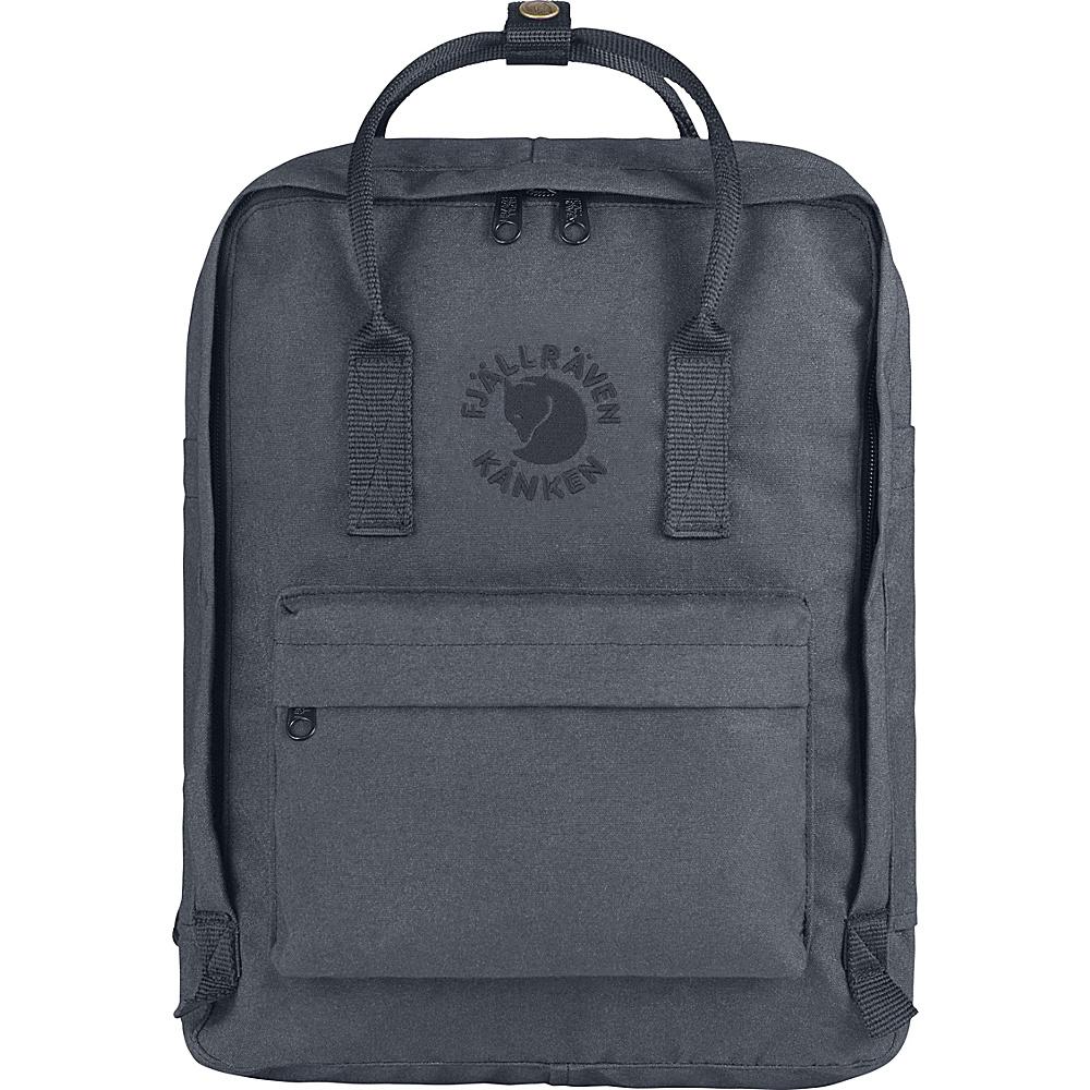 Fjallraven Re-Kanken Backpack Slate - Fjallraven Everyday Backpacks - Backpacks, Everyday Backpacks