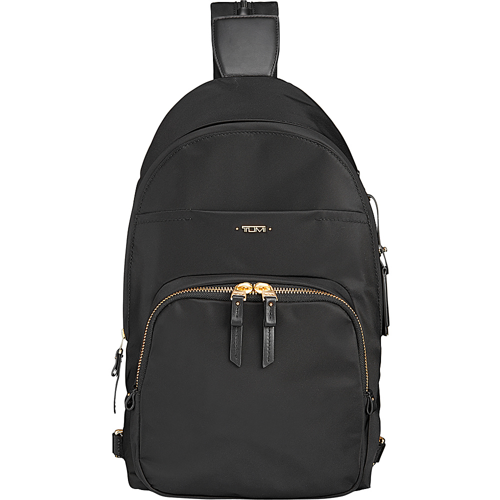 Tumi Nadia Convertible Backpack/Sling Black - Tumi Manmade Handbags - Handbags, Manmade Handbags