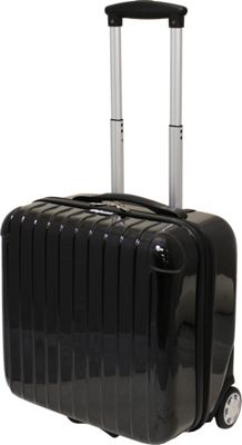Dejuno Dejuno Hardside Rolling Carry On Luggage Black - Dejuno Hardside Carry-On