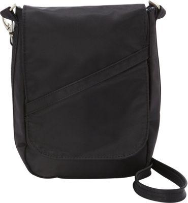 BeSafe by DayMakers RFID Medium U-Shape LX Sling Black - BeSafe by DayMakers Fabric Handbags