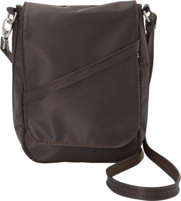 BeSafe by DayMakers RFID Medium U-Shape LX Sling Espresso - BeSafe by DayMakers Fabric Handbags