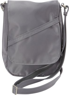 BeSafe by DayMakers RFID Medium U-Shape LX Sling Pewter - BeSafe by DayMakers Fabric Handbags