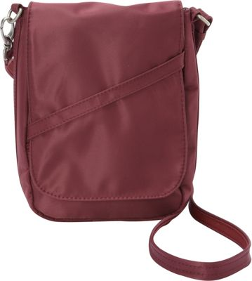 BeSafe by DayMakers RFID Medium U-Shape LX Sling Wine - BeSafe by DayMakers Fabric Handbags