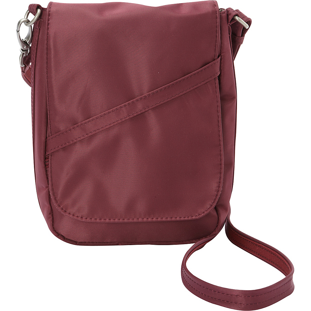 BeSafe by DayMakers RFID Medium U Shape LX Sling Wine BeSafe by DayMakers Fabric Handbags