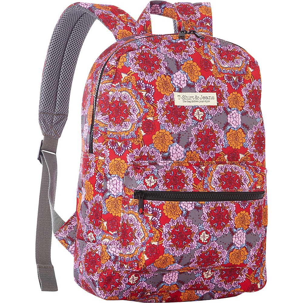 T shirt Jeans Pink Swirl School Backpack Pink Swirl T shirt Jeans Everyday Backpacks
