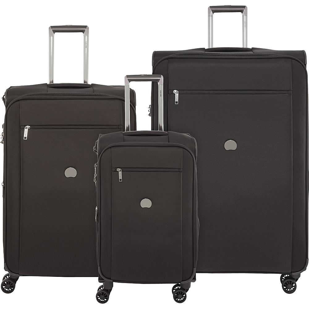 delsey montmartre 3 piece spinner luggage set 3 colors ebay. Black Bedroom Furniture Sets. Home Design Ideas