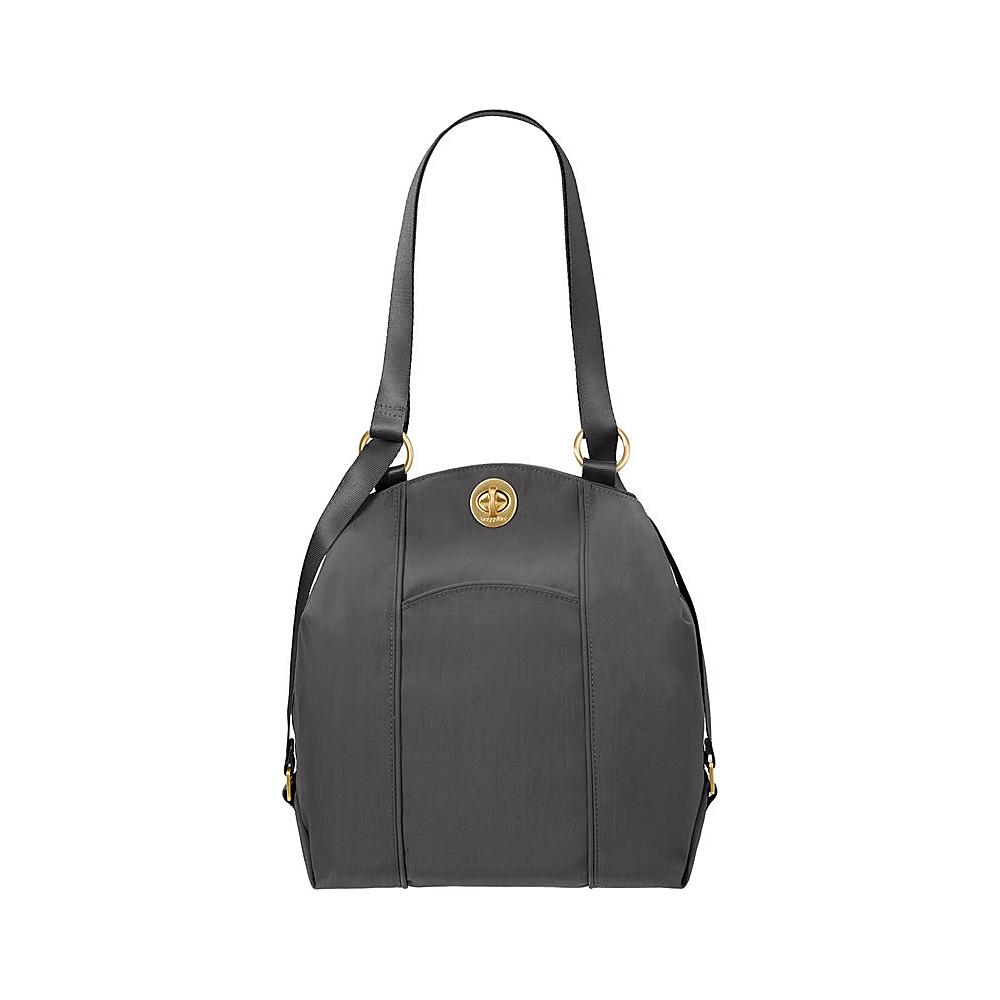 baggallini Mendoza Backpack Charcoal - baggallini Fabric Handbags - Handbags, Fabric Handbags