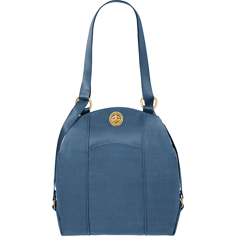 baggallini Mendoza Backpack Slate Blue - baggallini Fabric Handbags - Handbags, Fabric Handbags