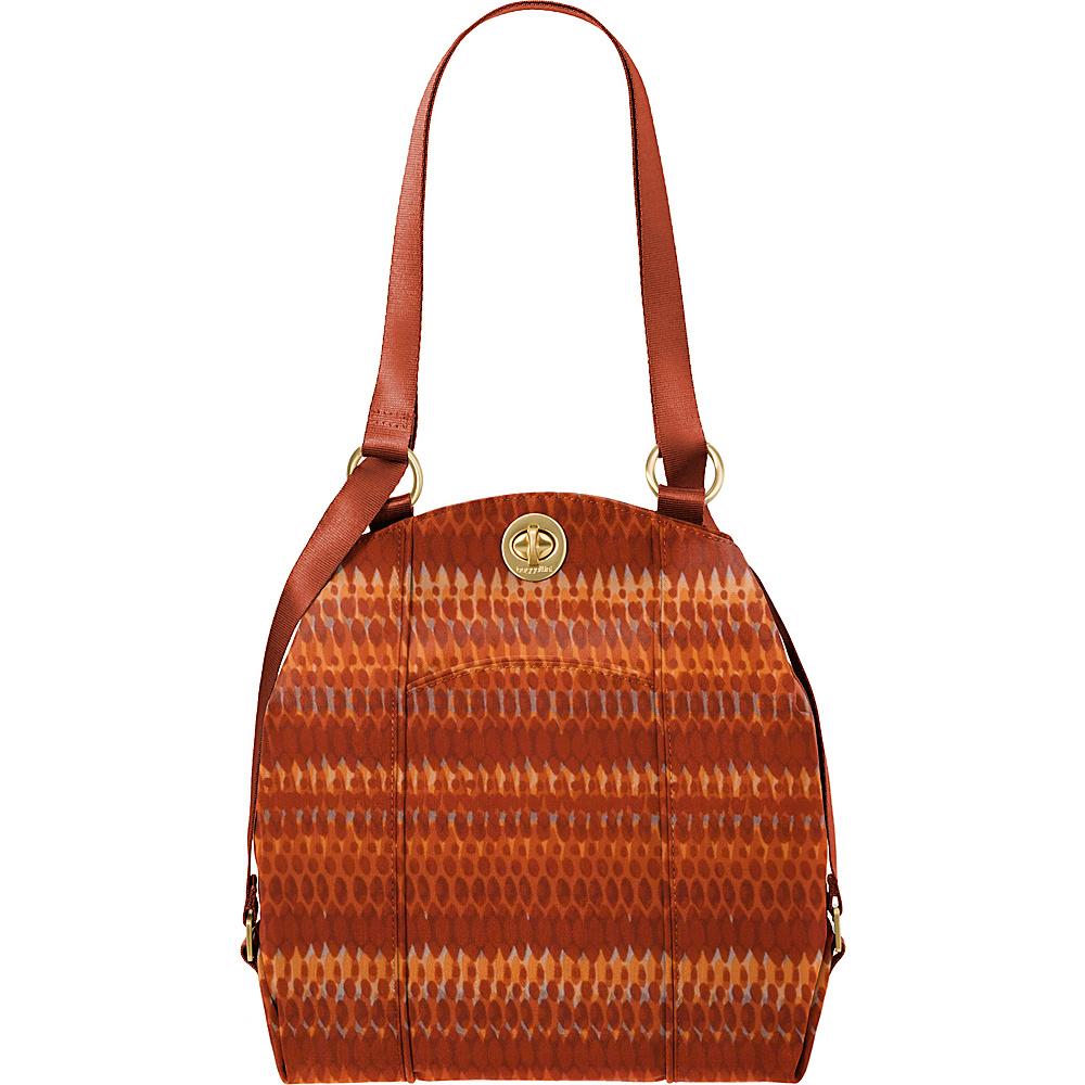 baggallini Mendoza Backpack Flame Print - baggallini Fabric Handbags - Handbags, Fabric Handbags
