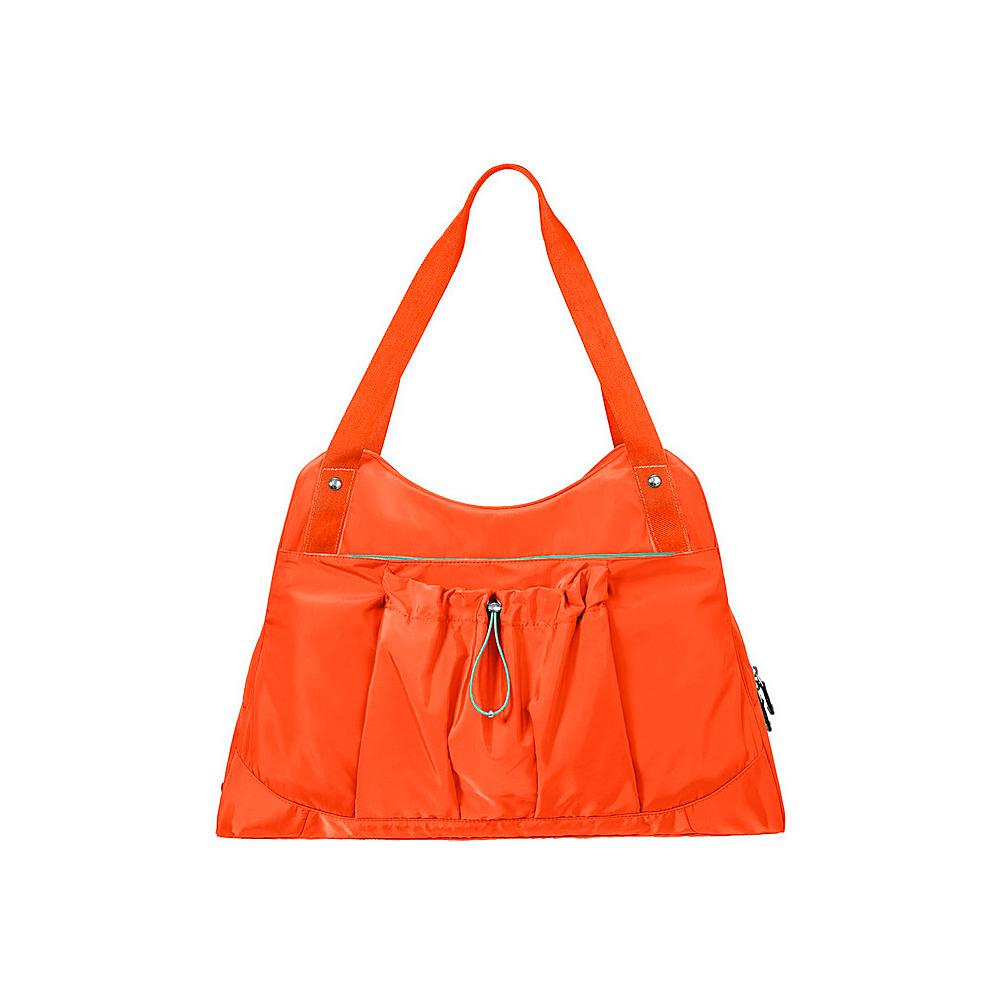 baggallini Motivate Yoga Tote TANGERINE - baggallini Fabric Handbags