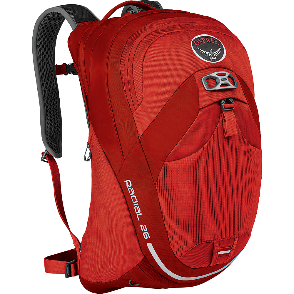 Osprey Radial 26 Cycling Backpack Lava Red (S/M) - Osprey Cycling Bags - Sports, Cycling Bags