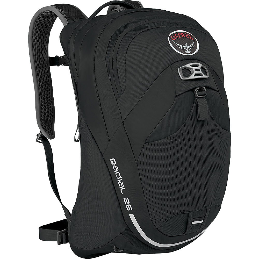 Osprey Radial 26 Cycling Backpack Black - S/M - Osprey Cycling Bags - Sports, Cycling Bags
