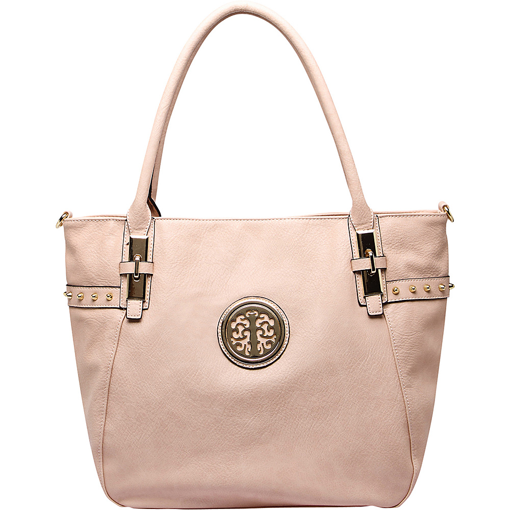 MKF Collection by Mia K. Farrow Ayana Tote Bag Beige - MKF Collection by Mia K. Farrow Manmade Handbags - Handbags, Manmade Handbags