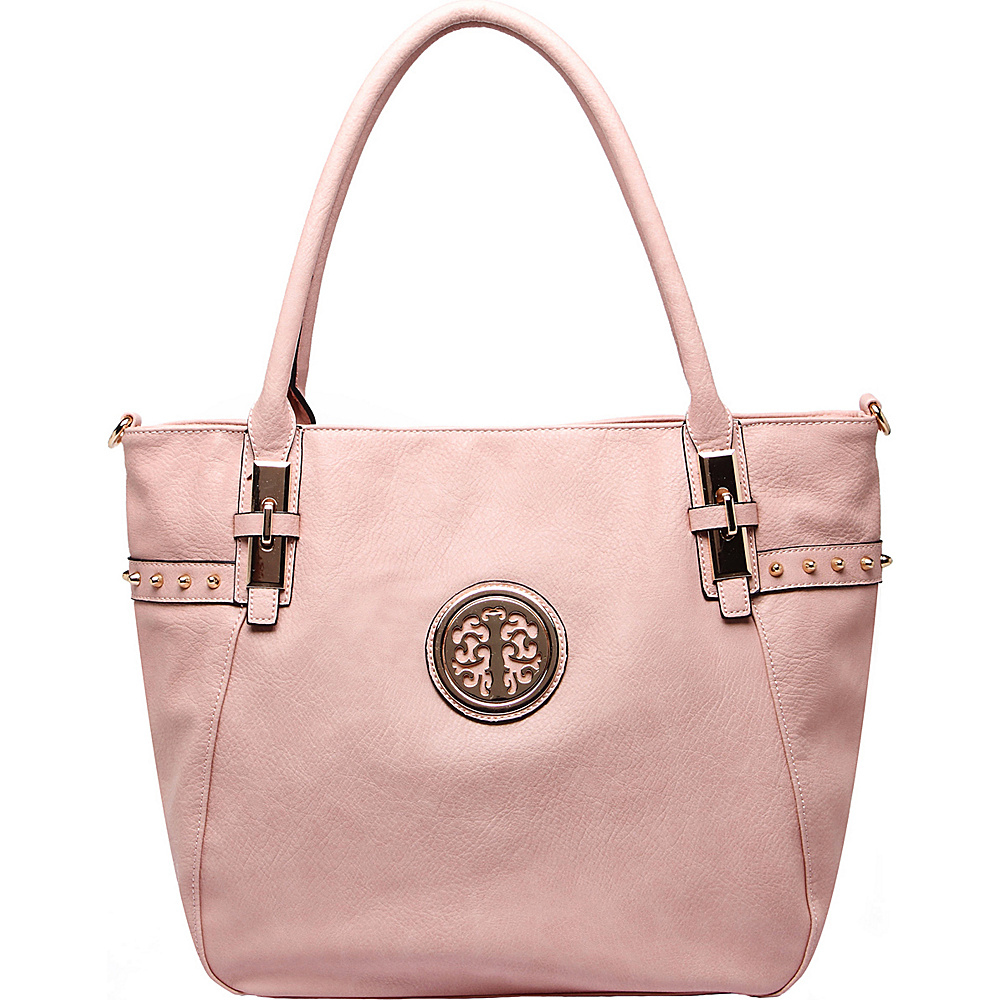MKF Collection Ayana Tote Bag Pink - MKF Collection Manmade Handbags - Handbags, Manmade Handbags