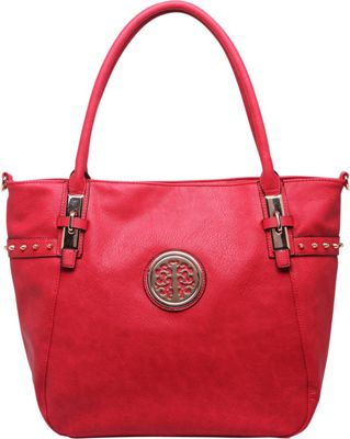 MKF Collection by Mia K. Farrow Ayana Tote Bag Red - MKF Collection by Mia K. Farrow Manmade Handbags