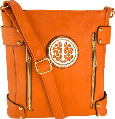 MKF Collection Fanisa Cross-Body Bag Orange - MKF Collection Manmade Handbags