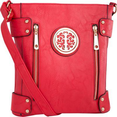 MKF Collection Fanisa Cross-Body Bag Red - MKF Collection Manmade Handbags