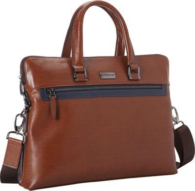 Numinous London SMART Leather City Bag 3501 Brown - Numinous London Other Men's Bags