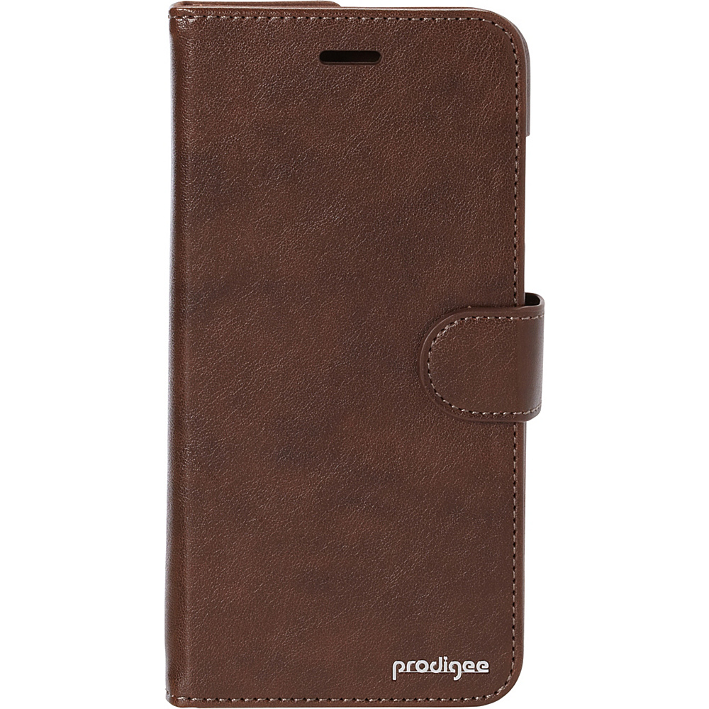 Prodigee Wallegee Case for iPhone 6 Plus 6s Plus Brown Prodigee Electronic Cases