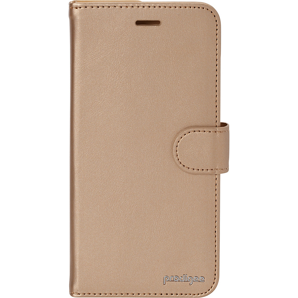 Prodigee Wallegee Case for iPhone 6 Plus 6s Plus Gold Prodigee Electronic Cases