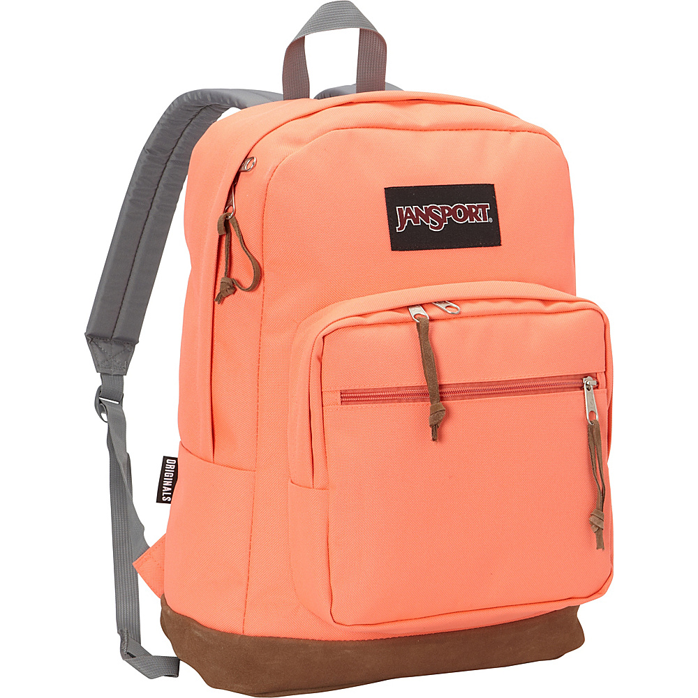 JanSport Right Pack Laptop Backpack- Discontinued Colors Tahitian Orange - JanSport Business & Laptop Backpacks - Backpacks, Business & Laptop Backpacks