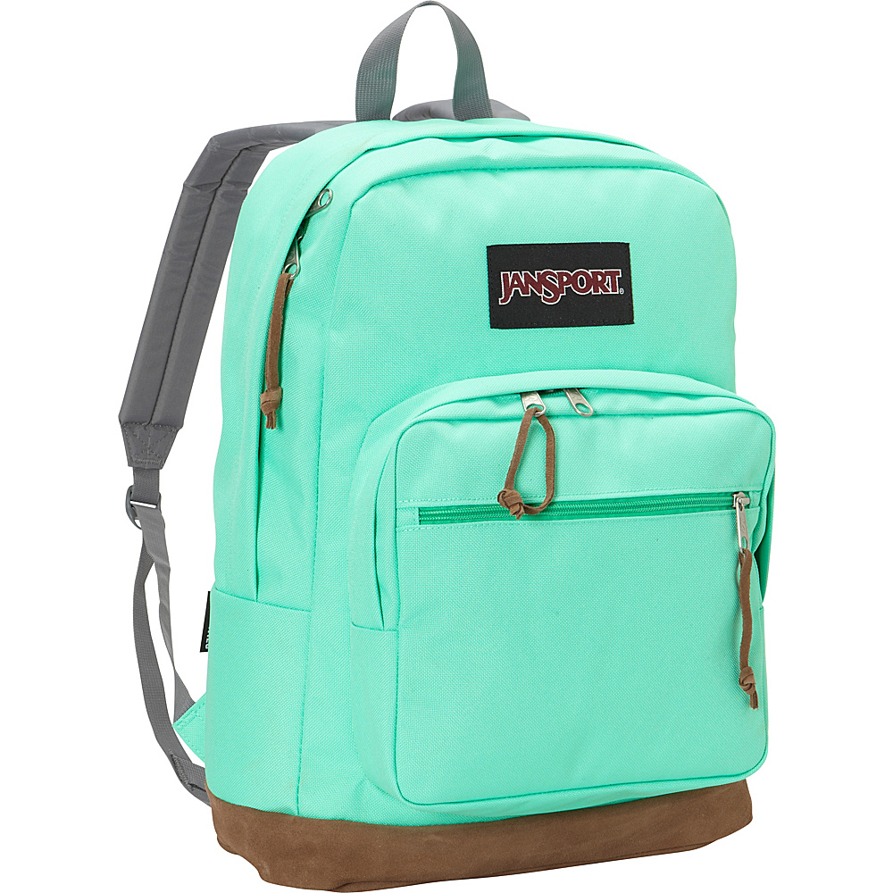 JanSport Right Pack Laptop Backpack- Discontinued Colors Seafoam Green - JanSport Business & Laptop Backpacks - Backpacks, Business & Laptop Backpacks