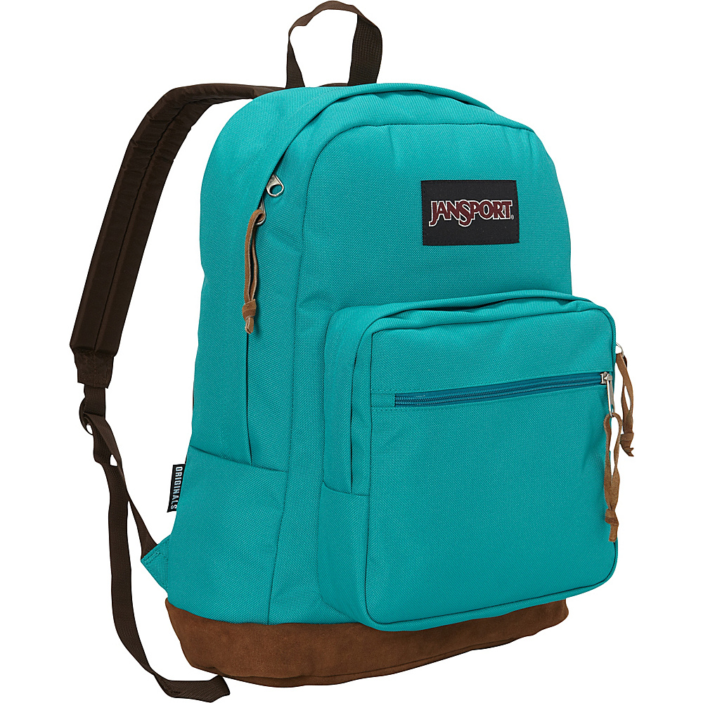 JanSport Right Pack Laptop Backpack- Sale Colors Spanish Teal - JanSport Business & Laptop Backpacks