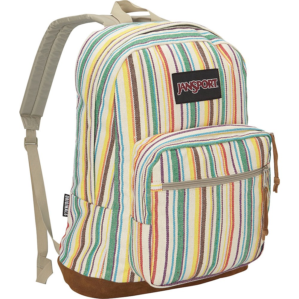 JanSport Right Pack Laptop Backpack- Discontinued Colors Multi Weave Striped - Expressions - JanSport Laptop Backpacks - Backpacks, Laptop Backpacks