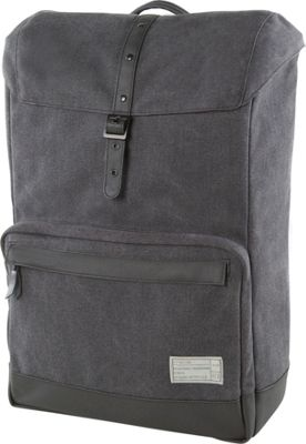 HEX Coast Canvas Backpack Supply Charcoal - HEX Business & Laptop Backpacks