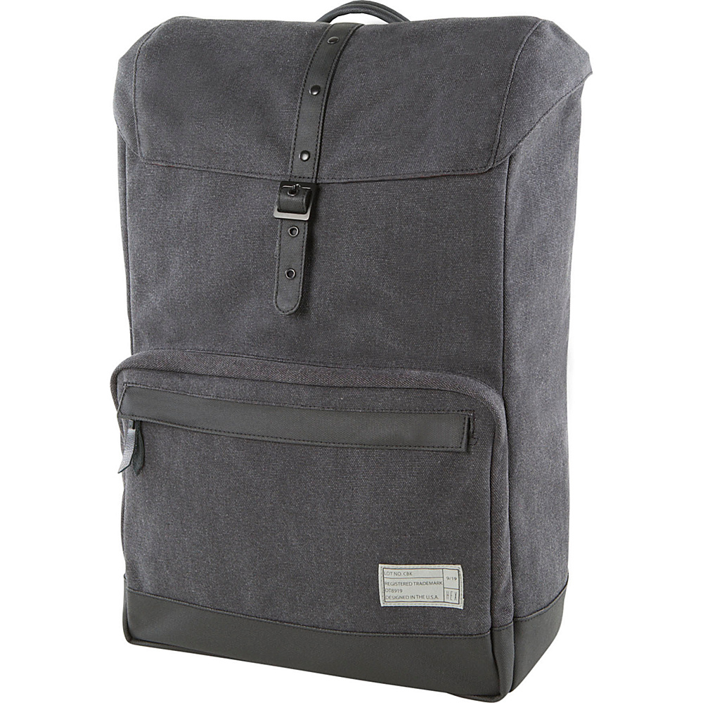 HEX Coast Canvas Backpack Supply Charcoal HEX Business Laptop Backpacks