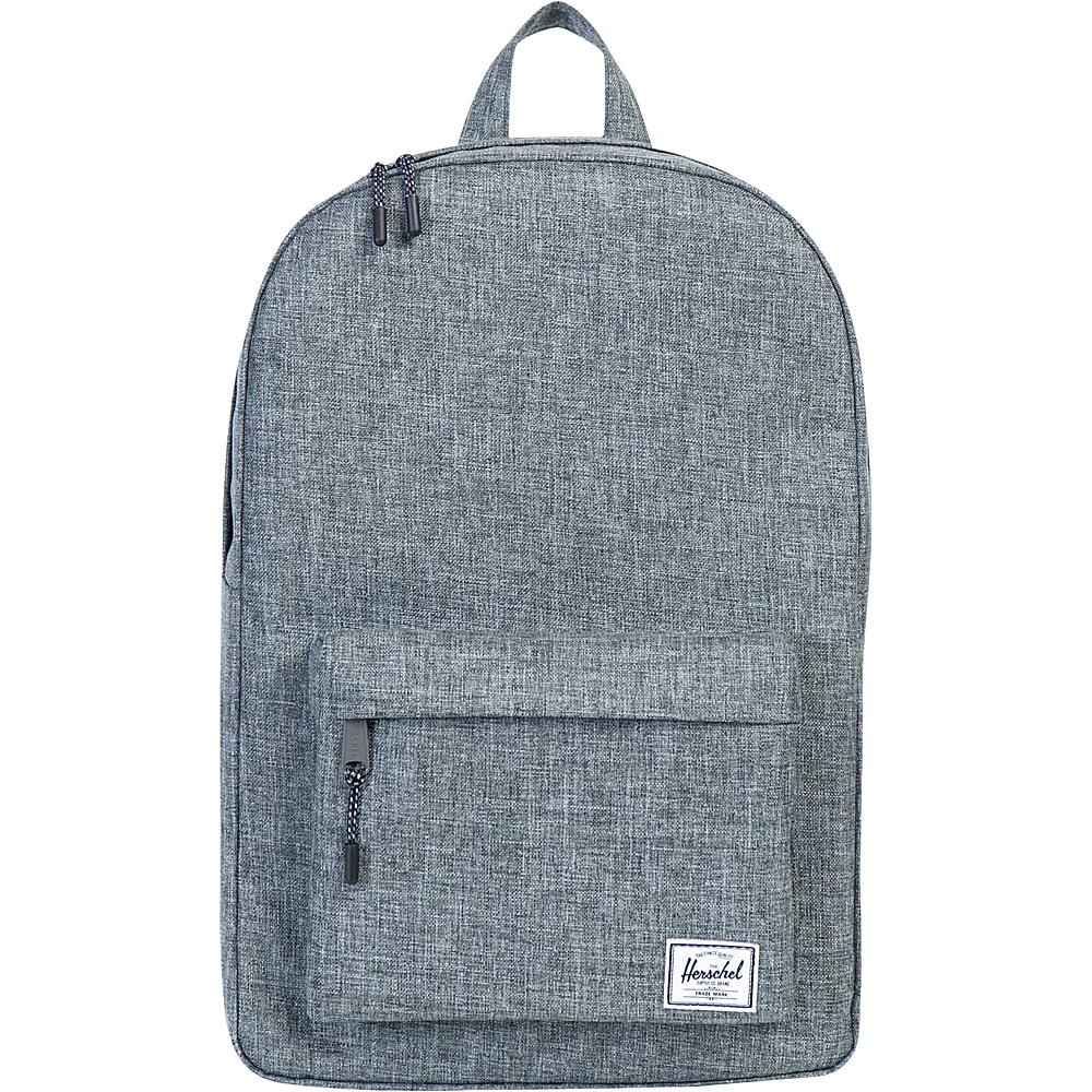 Herschel Supply Co. Classic Backpack- Discontinued Colors Raven Crosshatch - Herschel Supply Co. Everyday Backpacks