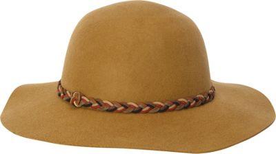 Adora Hats Wool Felt Floppy Hat One Size - Pecan - Adora Hats Hats