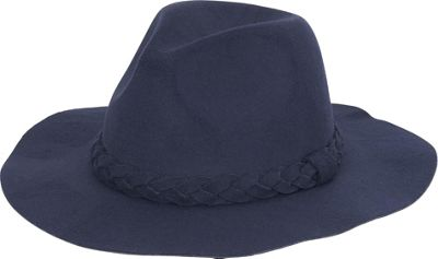 Image of Adora Hats Fashion Safari Hat One Size - Navy - Adora Hats Hats/Gloves/Scarves
