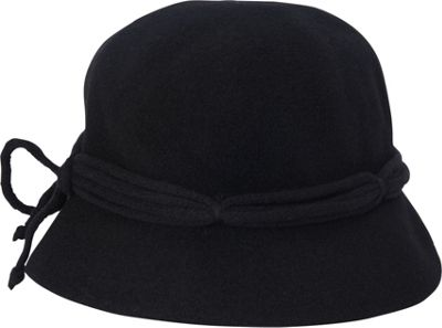 Adora Hats Wool Cloche Hat One Size - Black - Adora Hats Hats