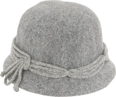 Adora Hats Wool Cloche Hat One Size - Grey - Adora Hats Hats