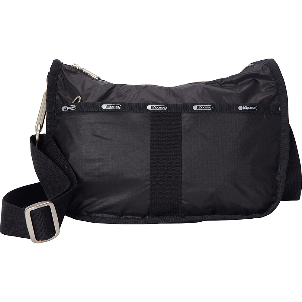 LeSportsac Essential Hobo True Black C LeSportsac Fabric Handbags