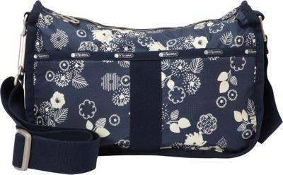 LeSportsac Essential Hobo Autumn Floral C - LeSportsac Fabric Handbags