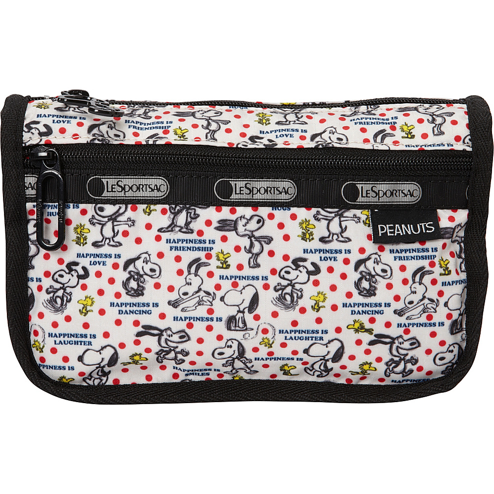 LeSportsac Peanuts X LeSportsac Travel Cosmetic Happiness Dots - LeSportsac Ladies Cosmetic Bags