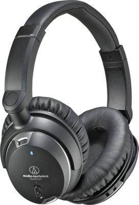 Audio Technica QuietPoint Active Noise-Canceling Over-The-Ear Headphones Black - Audio Technica Headphones & Speakers