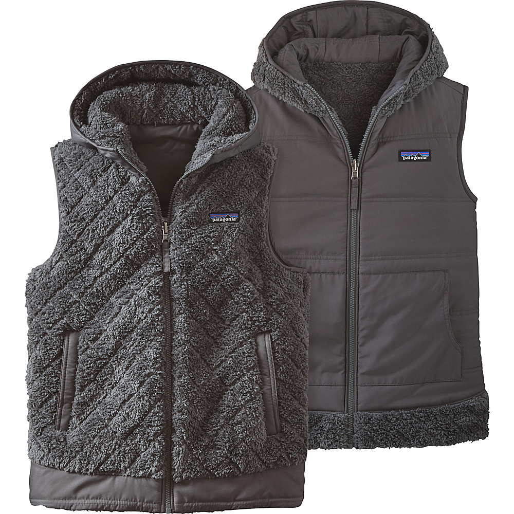 Patagonia Womens Los Gatos Hooded Vest XL - Forge Grey - Patagonia Womens Apparel - Apparel & Footwear, Women's Apparel