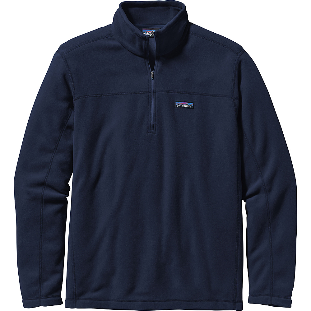 Patagonia Mens Micro D Pullover Sweater 3XL - Navy Blue - Patagonia Mens Apparel - Apparel & Footwear, Men's Apparel