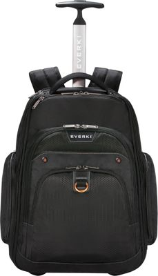 Everki Atlas Wheeled Laptop Backpack Black - Everki Non-Wheeled Business Cases