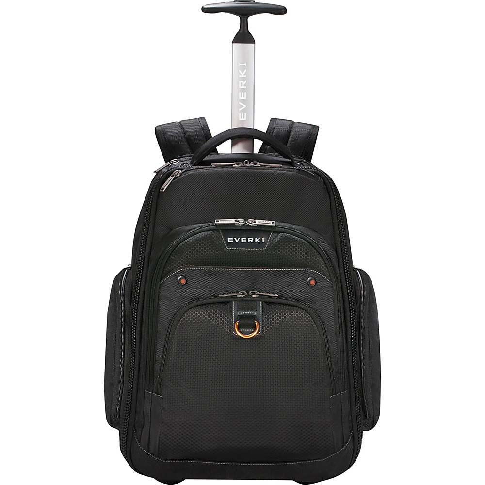 Everki Atlas Wheeled Laptop Backpack Black Everki Non Wheeled Business Cases